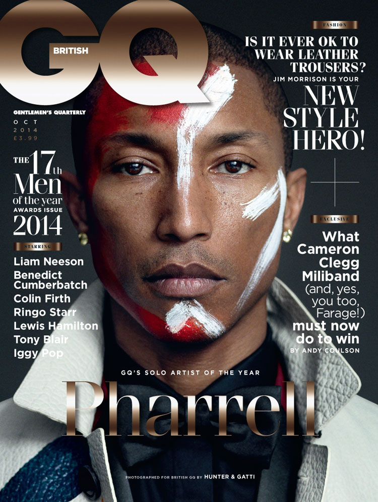 Gq Magazine The Secrets Of R Kelly: Pharrell Covers 'GQ' Magazine October 2014
