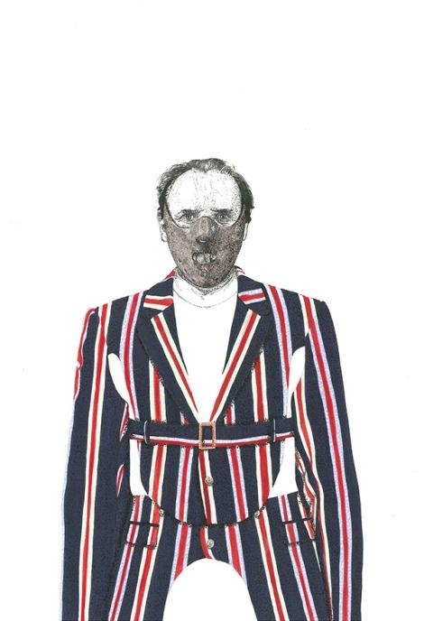 Hannibal Lecter in Walter Van Beirendonck