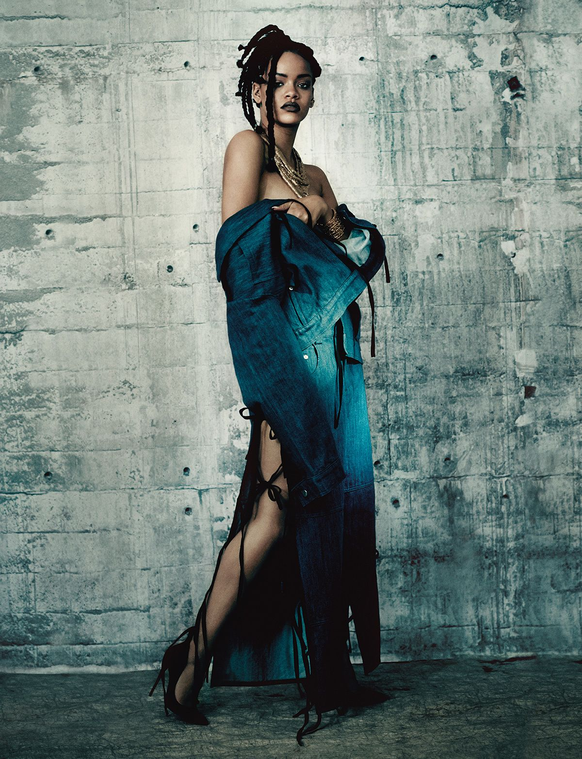 Rihanna's Full Editorial From The Pre-Spring 2015 Music