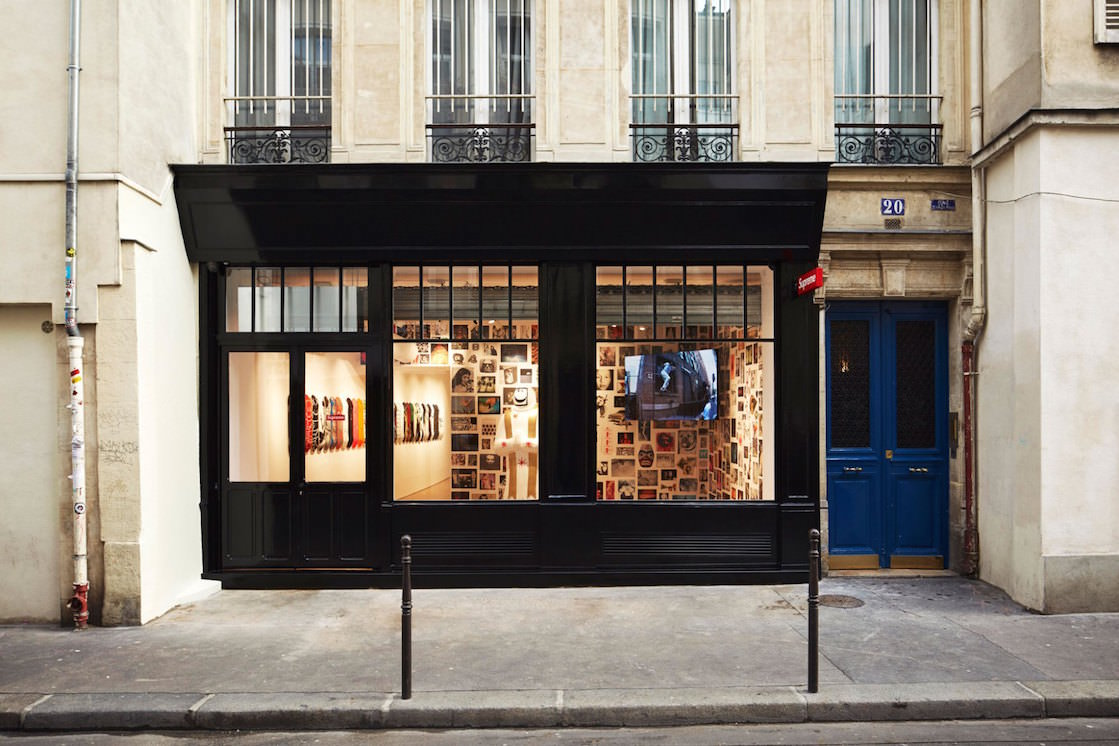A First Look Inside Supreme s Paris Flagship Store  77b46dc110