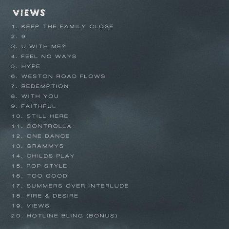 Tracklist Views